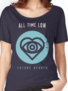 ALL TIME LOW SWS SLEEPING WITH SIRENS Future Hearts Tour REY2 Women's Relaxed Fit T-Shirt