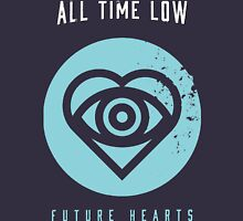 ALL TIME LOW SWS SLEEPING WITH SIRENS Future Hearts Tour REY2 Women's Fitted Scoop T-Shirt