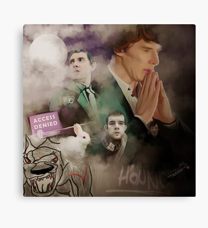 The hounds of Baskerville Canvas Print