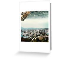 The Edge of a Parallel World Greeting Card
