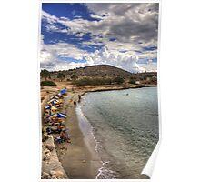 The Beach at Pondamos Poster