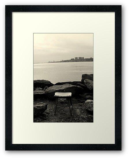 Sitting by Hudson River by Amanda Vontobel Photography/Random Fandom Stuff