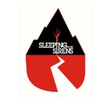 ALL TIME LOW SWS SLEEPING WITH SIRENS Future Hearts Tour REY3 Art Print