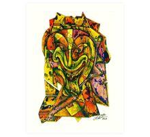Puzzleface Art Print