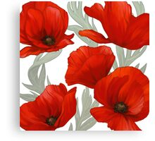 S/S 2015 Flowers - Poppies. Canvas Print