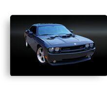 Dodge Challenger Blackbird SR71 Canvas Print