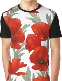 S/S 2015 Flowers - Poppies. Graphic T-Shirt