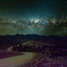 Bunyeroo Valley in Starlight by pablosvista2