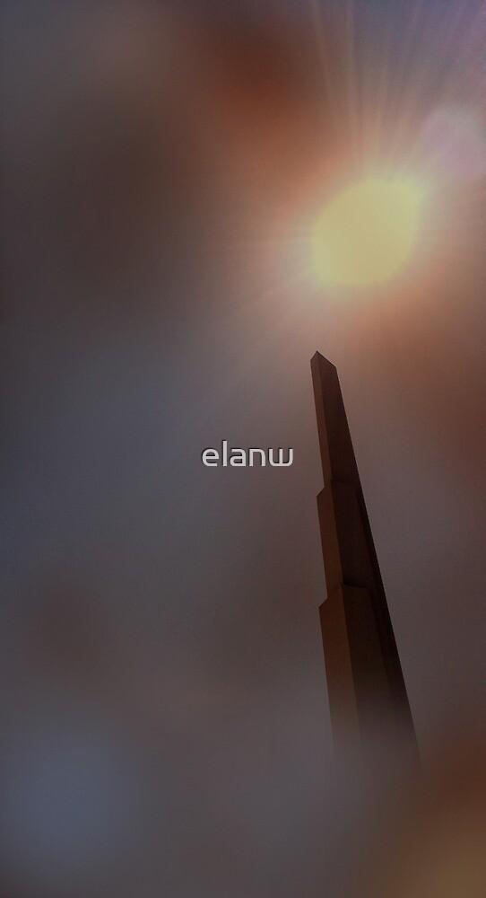 martian obelisk by elanw