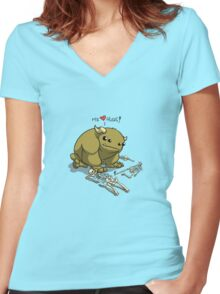 hugs to die for Women's Fitted V-Neck T-Shirt