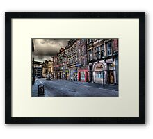 Newcastle Upon Tyne In HDR Framed Print