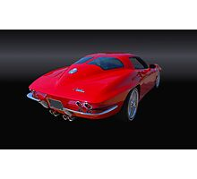 1963 Corvette Stingray Split Window Photographic Print