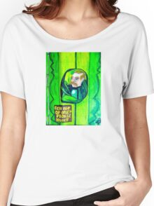 EMERALD CITY DOOR KEEPER Women's Relaxed Fit T-Shirt