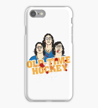 old time hockey iPhone Case/Skin