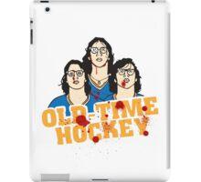 old time hockey iPad Case/Skin