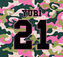 Girls' Generation (SNSD) YURI 'PINK ARMY' by ikpopstore