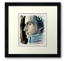 Rupert Penry-Jones, featured in Art Universe, Group-Gallery of Art and Photography Framed Print