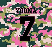 Girls' Generation (SNSD) YOONA 'PINK ARMY' by ikpopstore