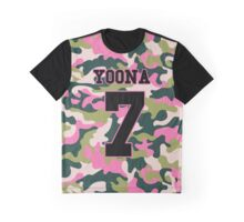 Girls' Generation (SNSD) YOONA 'PINK ARMY' Graphic T-Shirt