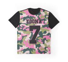 Girls' Generation (SNSD) YOONA 'PINK ARMY' Graphic T-Shirt