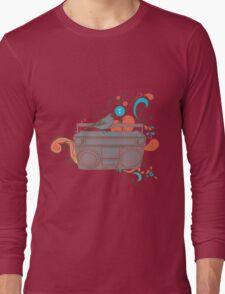 Retro Music Long Sleeve T-Shirt