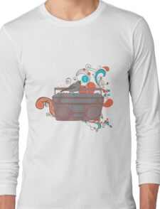 Retro Music Long Sleeve T-Shirt
