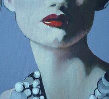 La Dama Allo Specchio  by Maureen Rocks-Moore