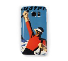 Vintage poster - Skiing Austria Samsung Galaxy Case/Skin