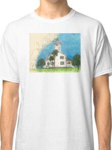 Haig Pt Lighthouse SC Nautical Chart Cathy Peek Classic T-Shirt