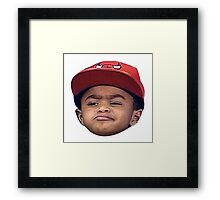 PJ Rose - Derrick Rose Framed Print