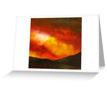 Sunset in Ostia Greeting Card