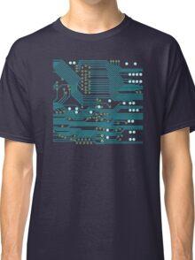 Dark Circuit Board Classic T-Shirt
