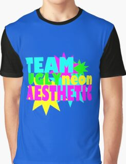 Neon Aesthetic Graphic T-Shirt
