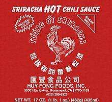 Sriracha Graphic Tee by Adam Wadson