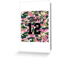 Girls' Generation (SNSD) SUNNY 'PINK ARMY' Greeting Card