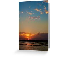 sweet dreams little one... for Mommy's dearest Greeting Card