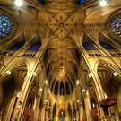 St Patrick's Cathedral - New York  by Yhun Suarez