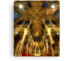 St Patrick's Cathedral - New York  Canvas Print