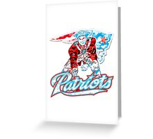 PATRIOT WHITE Greeting Card