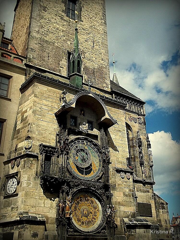 The Astronomical Clock-Prague, Czech Republic by Kristina R.
