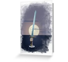 Excalibur - Lady of the Lake Greeting Card