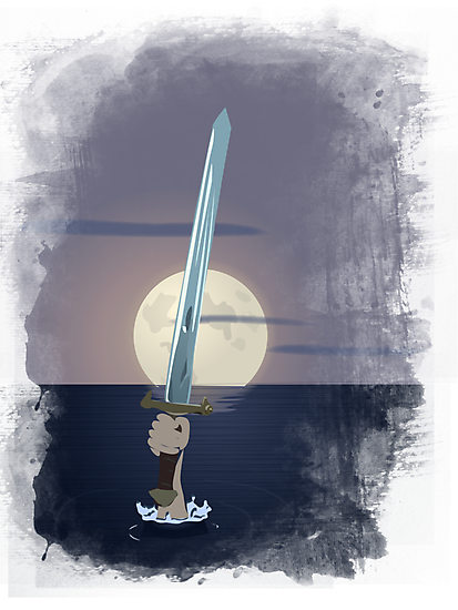 Excalibur - Lady of the Lake by LeapandiDesign