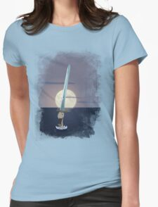 Excalibur - Lady of the Lake Womens Fitted T-Shirt