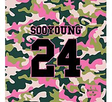 Girls' Generation (SNSD) SOOYOUNG 'PINK ARMY' Photographic Print