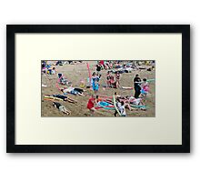 Noodle War at Surf 6 Framed Print