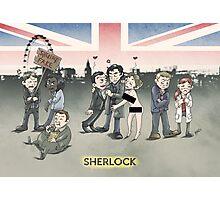 Sherlock group tensions Photographic Print