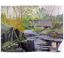 Black River Bridge near Actinolite, Ontario, Canada Poster