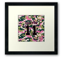 Girls' Generation (SNSD) SEOHYUN 'PINK ARMY' Framed Print