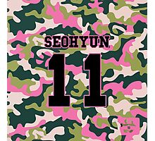 Girls' Generation (SNSD) SEOHYUN 'PINK ARMY' Photographic Print