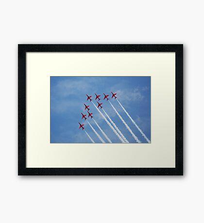 THE REDS Framed Print